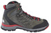 The North Face Verbera Hiker II GTX Shoes Men graphite grey/tnf red